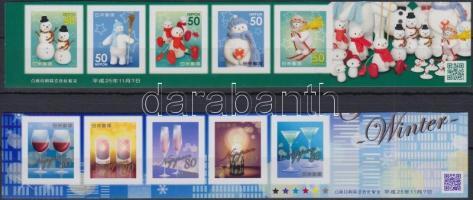 Greeting Stamps: Winter 10 self-adhesive values, Üdvözlőbélyegek: Tél 10 öntapadós érték