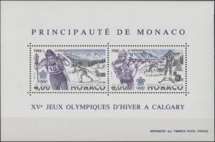 1988 Téli olimpia blokk Mi 38
