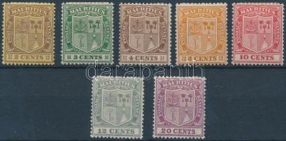 1925/1926 Forgalmi értékek Mi 177-182, 184