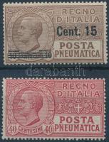 1924-1925 Csőposta Mi 173 + 229