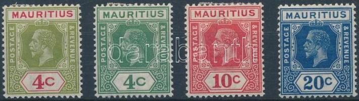 1926/1934 Forgalmi értékek Mi 188-189, 192, 195