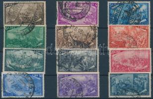 1948 Az 1848-as forradalom 100. évfordulója sor expressz érték nélkül Mi 748-759