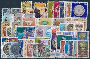 1976 Europa CEPT, Iparművészet teljes évfolyam