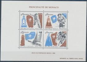 1988 Nyári olimpia, Szöul blokk Mi 40