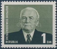 1953 Forgalmi: Wilhelm Pieck elnök Mi 342