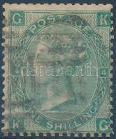 1865 Forgalmi: Viktória királynő Mi 27 (alul enyhe törés)