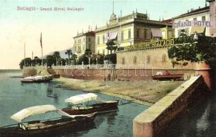 Bellagio, Grand Hotel, boats