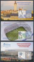 2003 Sporthilfe Labdarúgás 3 klf bélyegfüzet 1-1 négyestömbbel Mi 2439-2440 + 2443