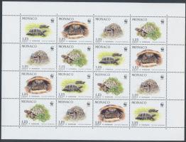 1991 WWF Görög teknősök kisív Mi 2046-2049