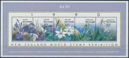 International Stamp Exhibition, orchids block, Nemzetközi bélyegkiállítás, orchideák blokk