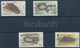 1984 WWF Jamaikai boa sor Mi 591-594