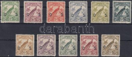 Hivatalos értékek Official stamps