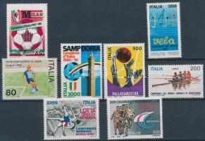 1980-1992 Sport motívum 8 db bélyeg