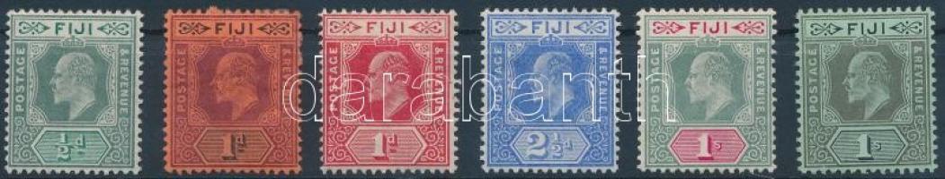 1904 Forgalmi értékek Mi 47-50, 52-53