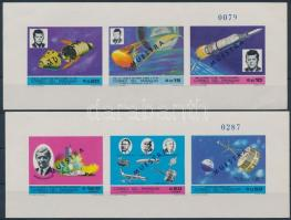1969 Űrkutatás; Kennedy 2 blokk Mi 121 + 123 MINTA