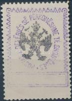 1913 Mi 26 fordított sassal, értékjelzés nélkül / with invrted eagle, without value