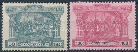 1898 Portó 2 érték Mi 4-5