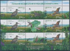 Protected areas mini sheet, Természetvédelmi területek kisív