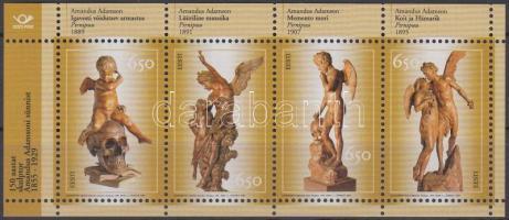 Amandus Adamson, sculptor block, 150 éve született Amandus Adamson, szobrász blokk