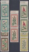 1960 Őshonos gyógynövények 5 ívszéli pár (sor) Mi 757-761