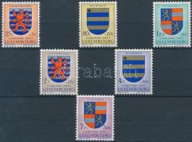 Caritas: Coat of arms set, Caritas: Címer sor