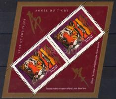 Year of the tiger block, A tigris éve blokk, Jahr des Tigers Block