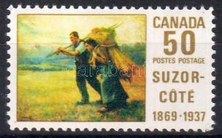 100th birthday of Auréle de Foy Suzor-Coté sculptor-painter, 100 éve született Auréle de Foy Suzor-Coté szobrász-festő, 100. Geburtstag des Malers und Bildhauers Auréle de Foy Suzor-Coté
