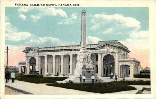 Panama City, Panama railroad depot