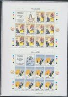 1997 Europa CEPT mítoszok és legendák kisívsor Mi 1012-1013