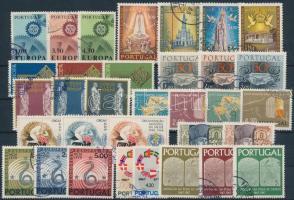33 stamps with complete sets, 33 db bélyeg, közte teljes sorok