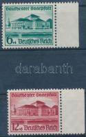 1938 Saarpfalz megye színházának megnyitása ívszéli sor Mi 673-674