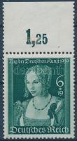 1939 A német művészet napja ívszéli bélyeg Mi 700