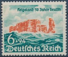 1940 A Helgoland-szigetek 50 éve tartoznak Németországhoz Mi 750