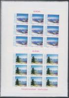 1999 Europa CEPT nemzeti parkok kisívsor Mi 162-163