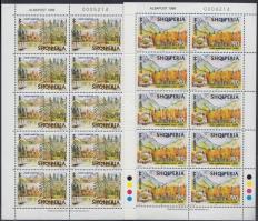 1999 Europa CEPT nemzeti parkok kisívsor Mi 2690-2691