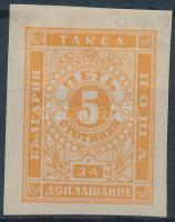 1885/86 Portó Mi 4y vágott
