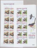 1999 Europa CEPT nemzeti parkok kisívsor Mi 852-855