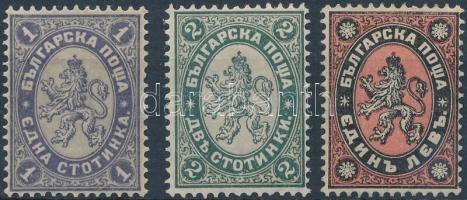 1886 Mi 25-27