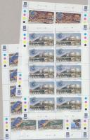 1999 50 éves az Európa Tanács; Europa CEPT nemzeti parkok kisívsor Mi 1063-1066