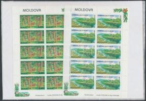 1999 Europa CEPT nemzeti parkok kisívsor Mi 305-306