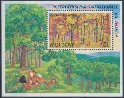 1999 Europa CEPT nemzeti parkok blokk Mi 18