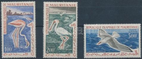 1961 Madár sor Mi 178-180
