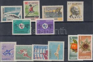 1963-1965 2 klf sor + 6 önálló érték