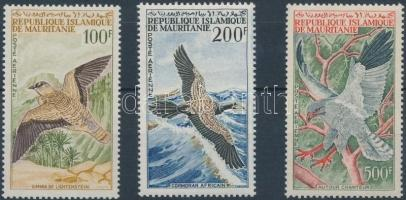 1964 Madár sor Mi 223-225