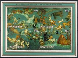 1972 Jólétért: Sakkfigurák sor négyestömbökben Mi 435-438