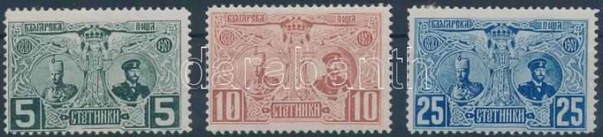 1907 I. Ferdinánd Mi 66-68