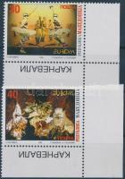 1998 Europa CEPT nemzeti ünnepek és fesztiválok ívsarki sor Mi 128-129