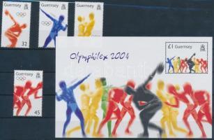 2004 Nyári olimpia, Athén sor Mi 1018-1021 + blokk 38
