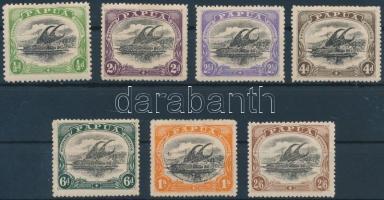 1907 Forgalmi értékek Mi 32 A, 34-38, 39 IC