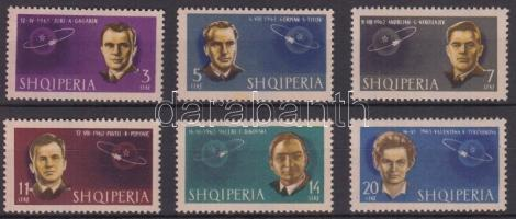 Soviet cosmonauts set, Szovjet űrhajósok sor